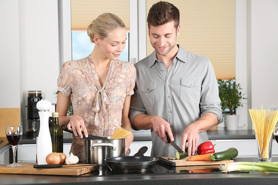 randiņš virtuvē