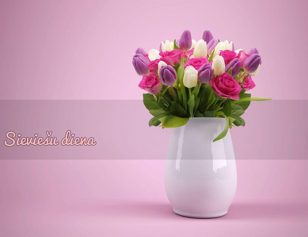 Sieviešu dienas tulpes